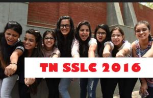Find TNSSLC Result 2016
