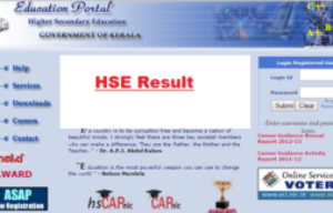 Kerala HSE Result 2016 (+2 Result)